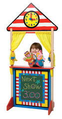 Puppet Theatre with Clock