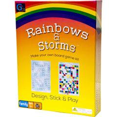 Rainbows & Storms - Make Your Own Board Game Kit
