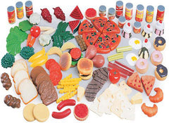 Realistic Play Food (130-Piece Set)