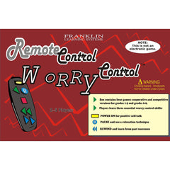 Remote Control Worry Control Game