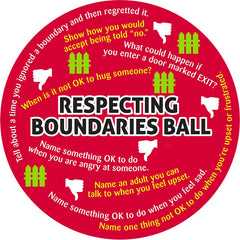 Respecting Boundaries Counseling Ball