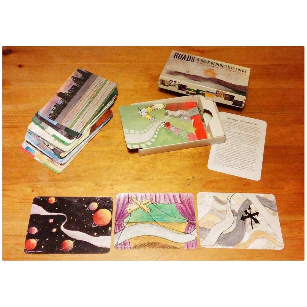 Roads: A Deck of Projective Cards (Professional Use)