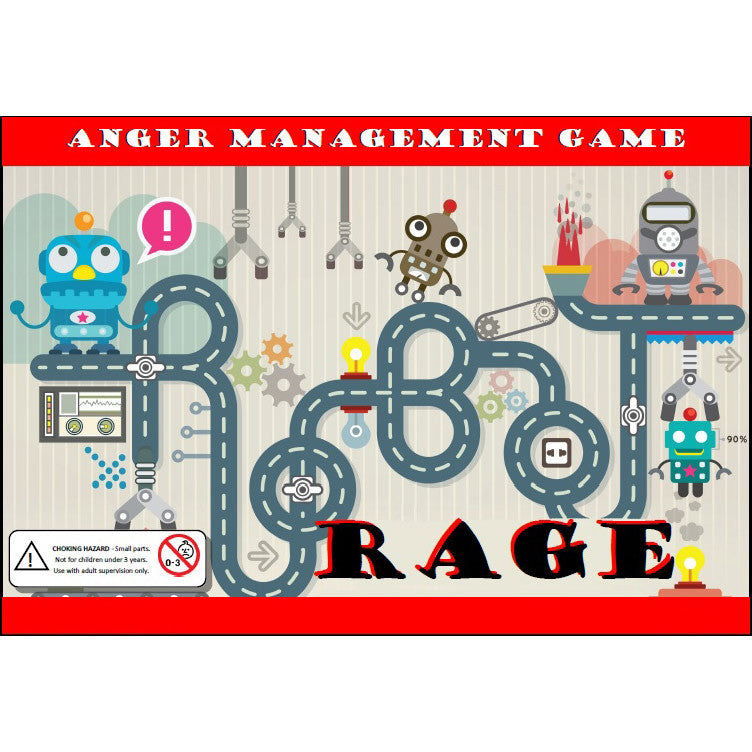 Robot Rage - Anger Management Game (For Professional Use)