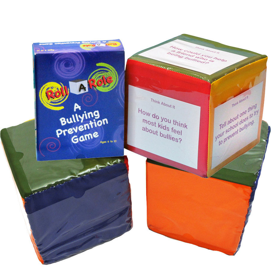 Roll-A-Role: A Bullying Prevention Game (Cubes & Cards)