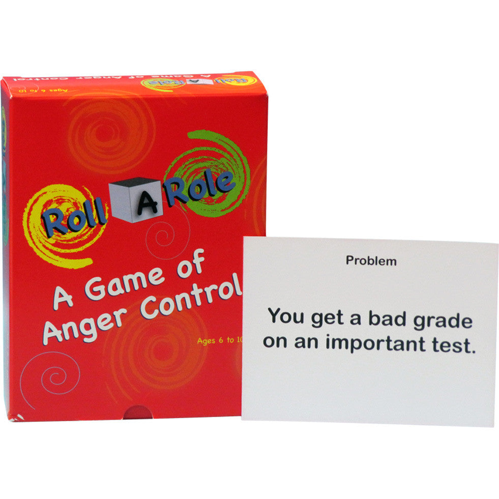 Roll-A-Role: A Game of Anger Control (Cards Only)