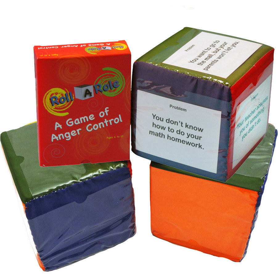 Roll-A-Role: A Game of Anger Control (Cubes & Cards)