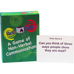 Roll-A-Role: A Game of Non-Verbal Communication (Cubes & Cards)