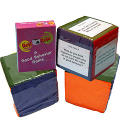 Roll-A-Role: A Good Behavior Game (Cubes & Cards)