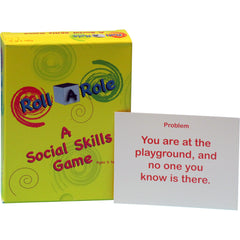 Roll A Role: A Social Skills Game (Cubes & Cards)