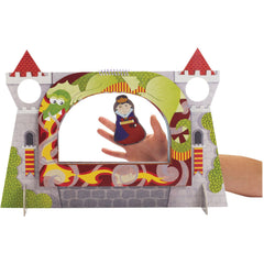 Castle Finger Puppet Theater Set (Multi-Scene)