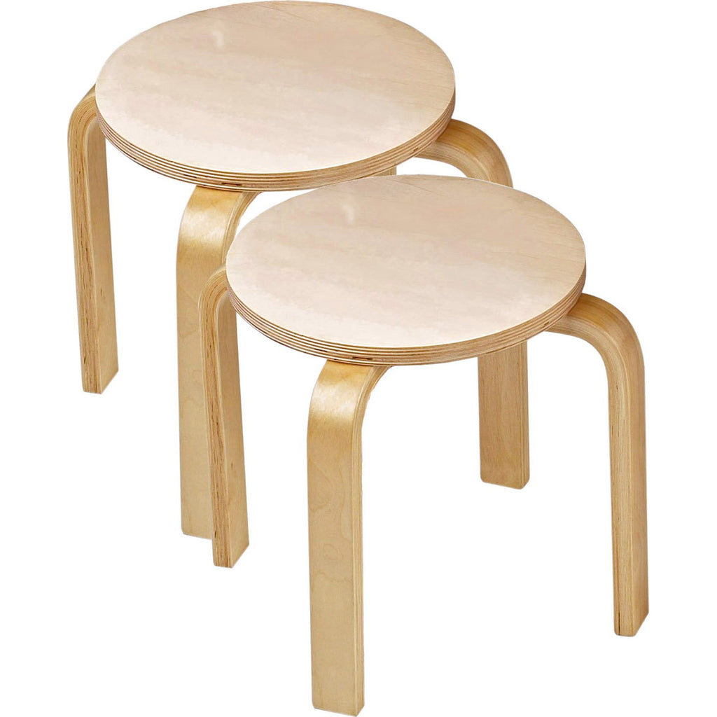 Sitting Stools for Playroom Sand Table (Set of 2)