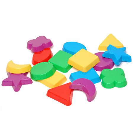 SHAPES - Sand Molds (16-Pieces)
