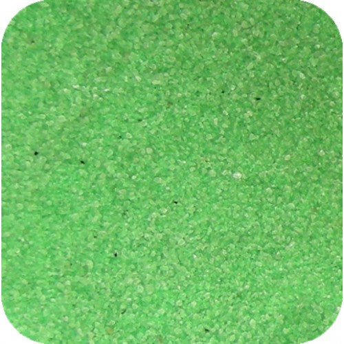 Sand Tray Sand - Fluorescent Green Sand (25 lbs.)