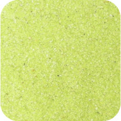 Sand Tray Sand - Lime Yellow Sand (25 lbs.)