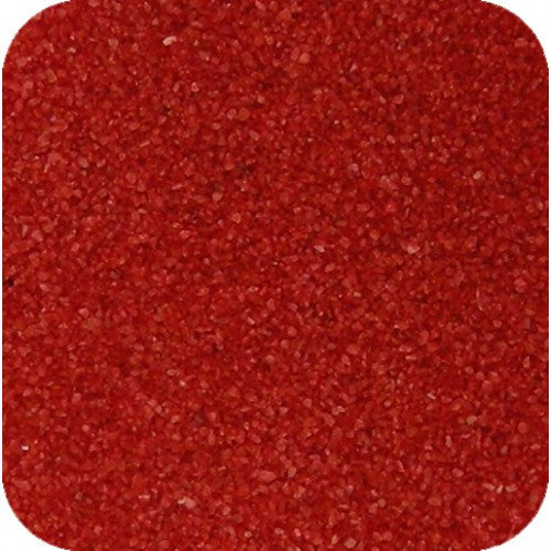 Sand Tray Sand - Vibrant Red Sand (25 lbs.)