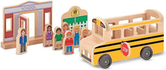 School Bus Play Set