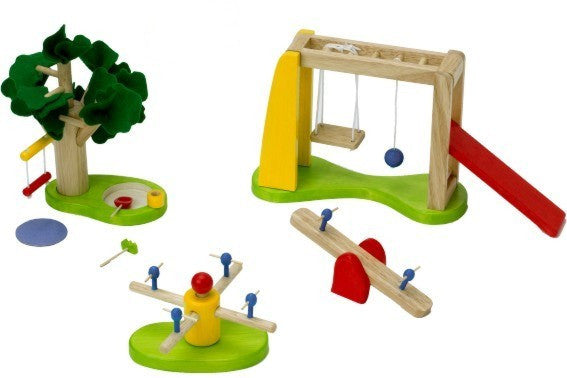School/Community Playground Set (For Multiple Child Play)