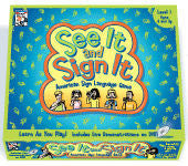 The See It & Sign It Game (ASL Game)