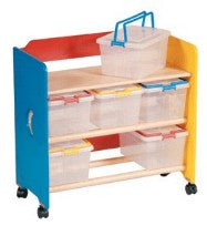 See, Store and Take-Along Storage Cart