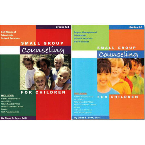 Small Group Counseling For Children Set