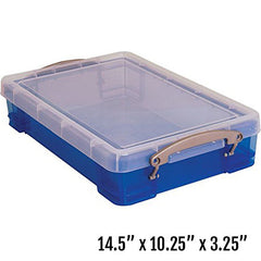 "Small Portable Sand Tray with Lid (14.5""L x 10.25""W x 3.25""D)"