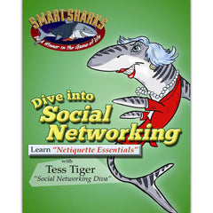 Smart Sharks Dive into SOCIAL NETWORKING: Netiquette Essentials Card Game