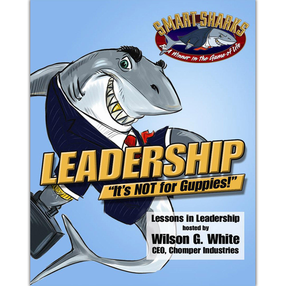 Smart Sharks LEADERSHIP: It's NOT for Guppies Card Game