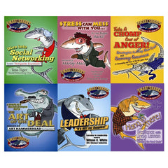 Smart Sharks Set of 6 Card Games