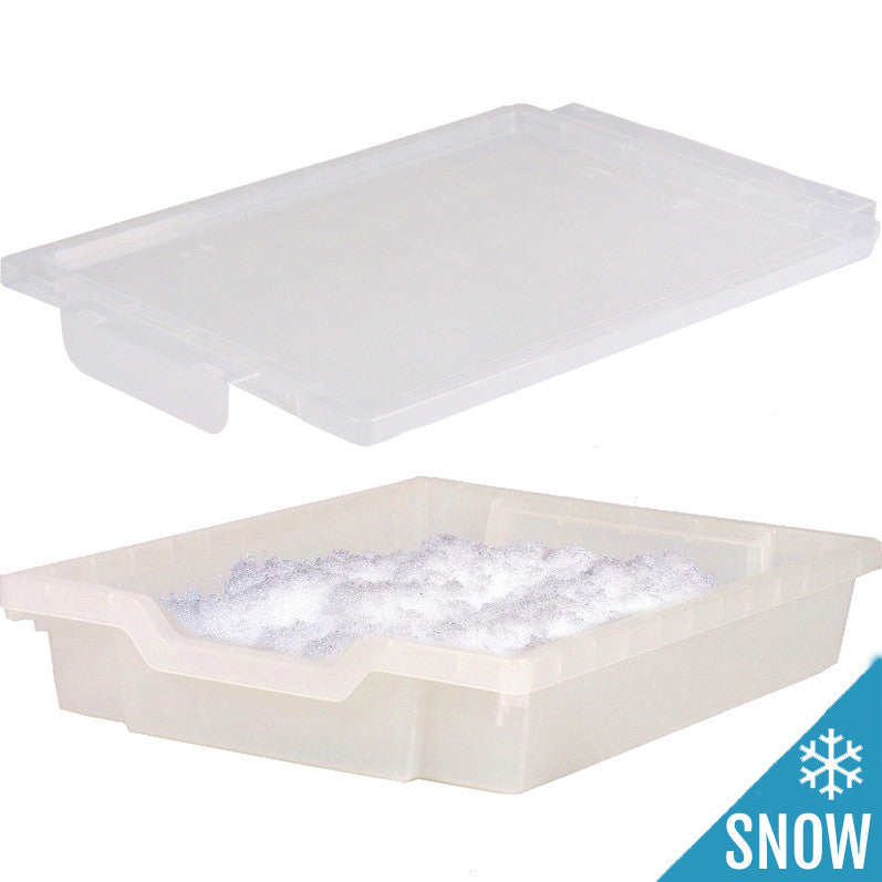 SNOW-Tray with Lid (Includes Super Snow)