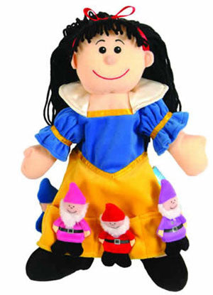 Snow White & Seven Dwarves (Puppet Set)