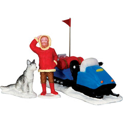 Miniature - Snowmobile Adventure (3-Figure Set)