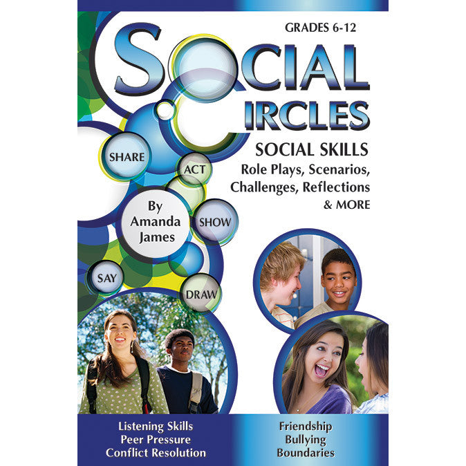 Social Circles - Social Skills Activity Cards