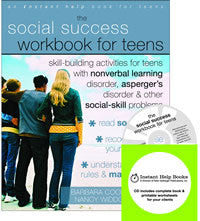 The Social Success Workbook for Teens (Professional Edition w/CD)