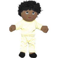 'Soft Play' African-American Boy Doll (w/ Removable Clothing)