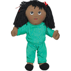 'Soft Play' African-American Girl Doll (w/ Removable Clothing)