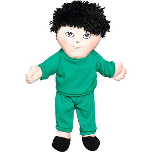 'Soft Play' Asian Boy Doll (w/ Removable Clothing)