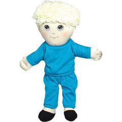'Soft Play' Caucasian Boy Doll (w/ Removable Clothing)