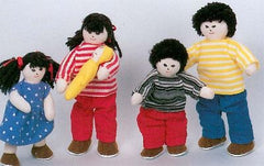 Soft 'Pose & Play' Doll Family (Asian)