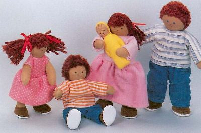 Soft 'Pose & Play' Doll Family (Hispanic)