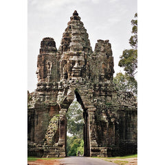 The South Gate, Angkor Thom (Cambodian Monument)