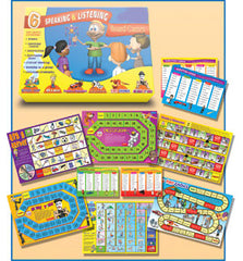 Speaking and Listening Board Games (6 games)