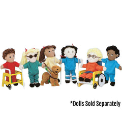Special Needs Doll Equipment Set