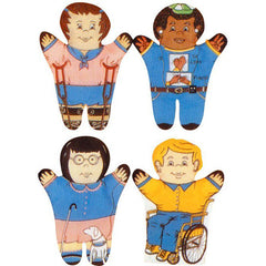 Special Needs Puppets (Set of 4)