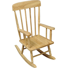 Spindle Rocking Chair - Natural
