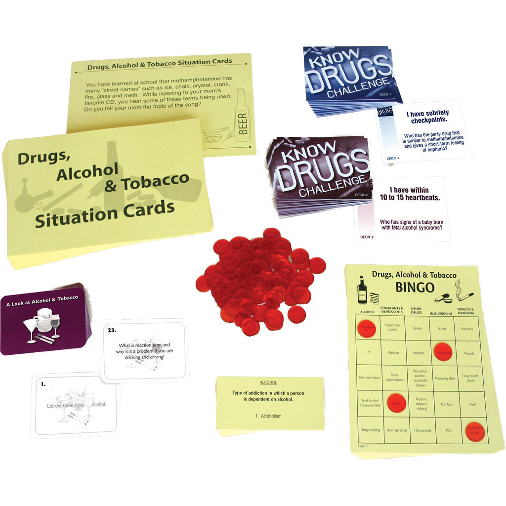 Substance Abuse Game/Activities Kit