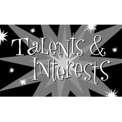 Talents & Interests Cards (Middle School Version)