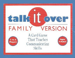 Talk It Over! Card Game (Family Counseling Version)