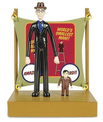 Tallest Man & Smallest Man (4-Piece Set)