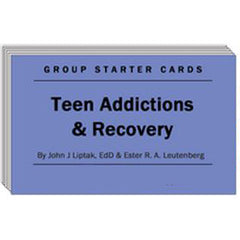 Teen Addictions & Recovery - Group Starter Cards
