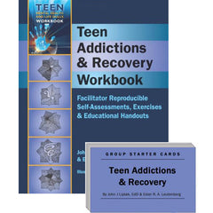 Teen Addictions & Recovery Set (Workbook & Group Starter Cards)